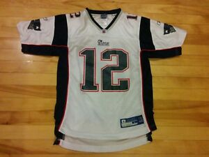 8168ecc1a Image is loading Tom-Brady-New-England-Patriots-NFL-Equipment-Reebok-
