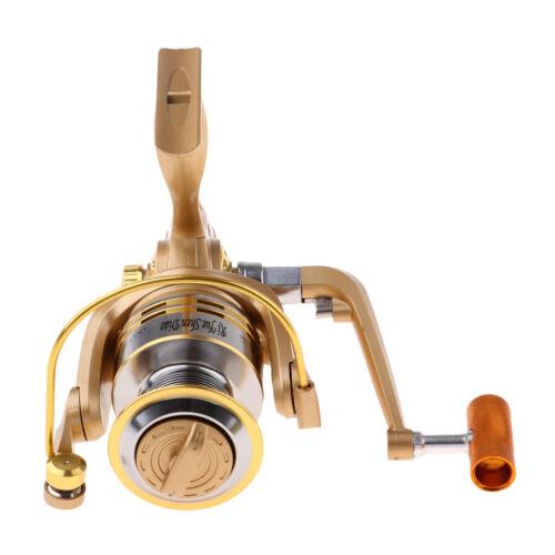Spinning Fishing Reel Left//Right Hand 12BB Gear Ratio 5.2:1 Casting Fishing