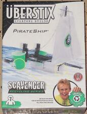 Uberstix Pirate Ship Construction Building Toy Uber Stix New