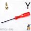 Tri-Wing-Gameboy-Reparatur-Werkzeug-Schraubendreher-Bits-Bit-Color-Pocket-Wii Indexbild 5