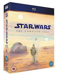 1 of 1 - Star Wars: The Complete Saga [Blu-ray] [1977], Very Good DVD, Liam Neeson, Antho