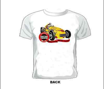 Vintage GASSER//DRAG//NASCAR//SPRINT//MIDGET RACE T-shirt WYNNS CHARGER