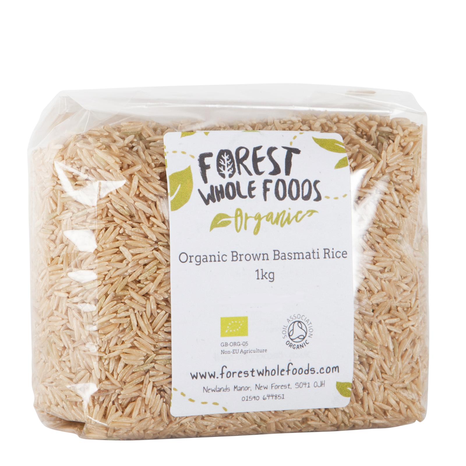 Forest Whole Foods - Organico Marronee Basmati Riso