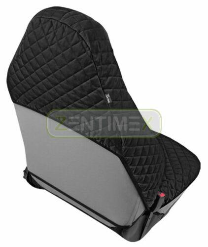 Funda del asiento klimatisierend negro para audi a4 b8 Avant coche familiar 5-puertas 04.08