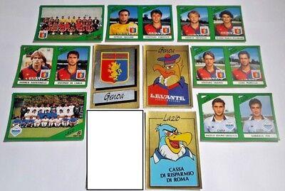 figurina con velina * 1986-87 Serie B LAZIO LECCE Calciatori Panini SCEGLI