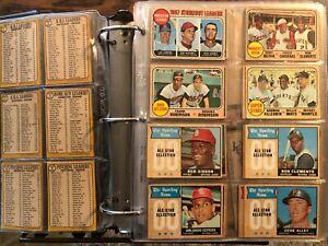 1968 Topps Baseball cards set (598); + oddball cards; all off-grade