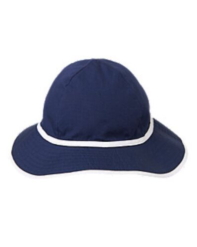 NWT Gymboree Nautical Navy Keyhole Sunhat Bucket Sun Hat  NEW Girls 2T 3T 4T 5T