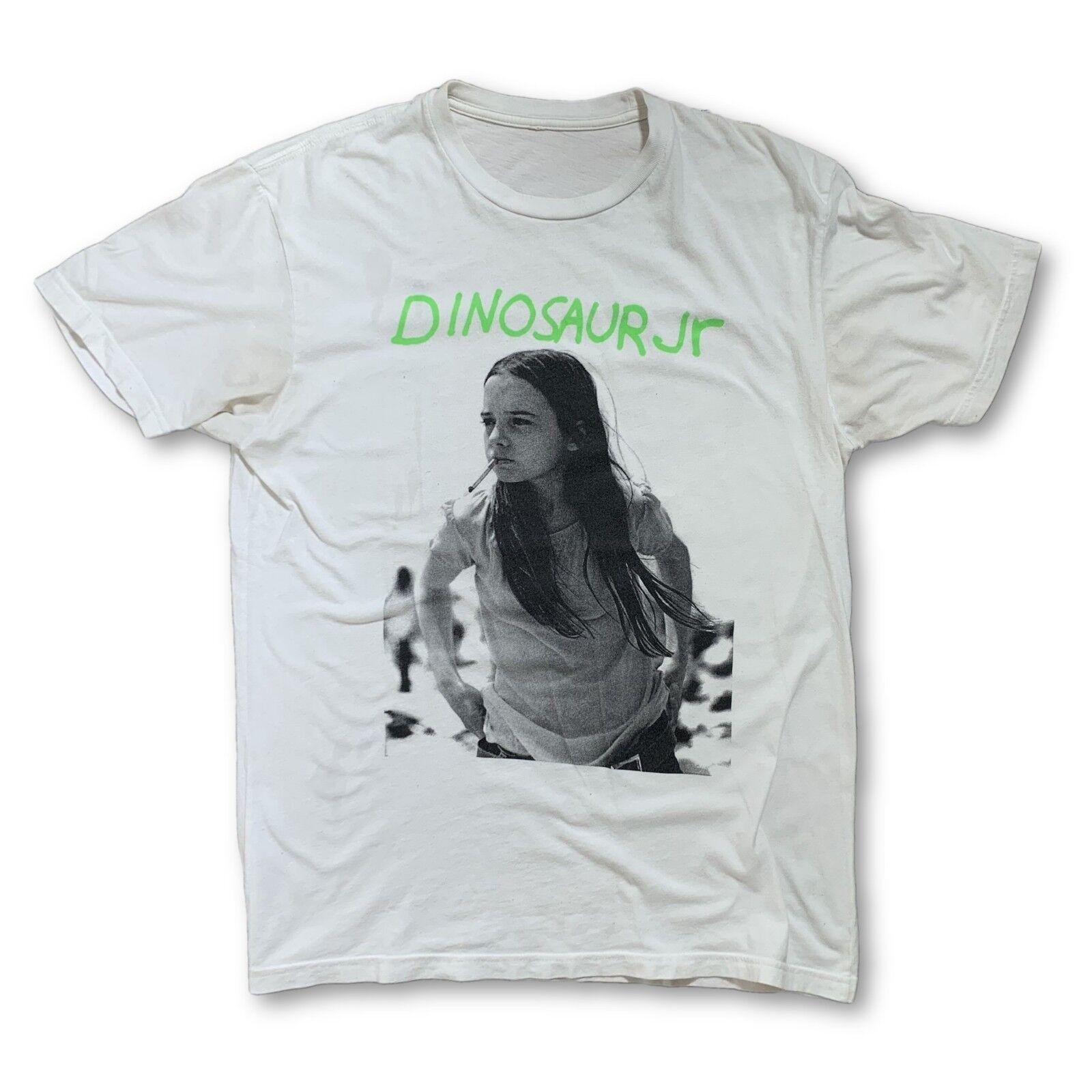 Vintage VTG 90s Dinosaur JR White T-Shirt my bloo… - image 1