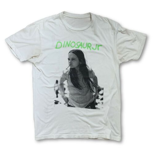 Vintage VTG 90s Dinosaur JR White T-Shirt my blood