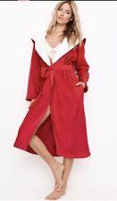 item 1 Victoria s Secret Cozy Hooded Sherpa Short Robe ~ Size Medium  Large  -Victoria s Secret Cozy Hooded Sherpa Short Robe ~ Size Medium  Large ca5bec7c3