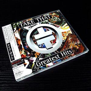 Take That - Greatest Hits JAPAN CD+Bonus Track W/OBI BVCP-926 #123-2*