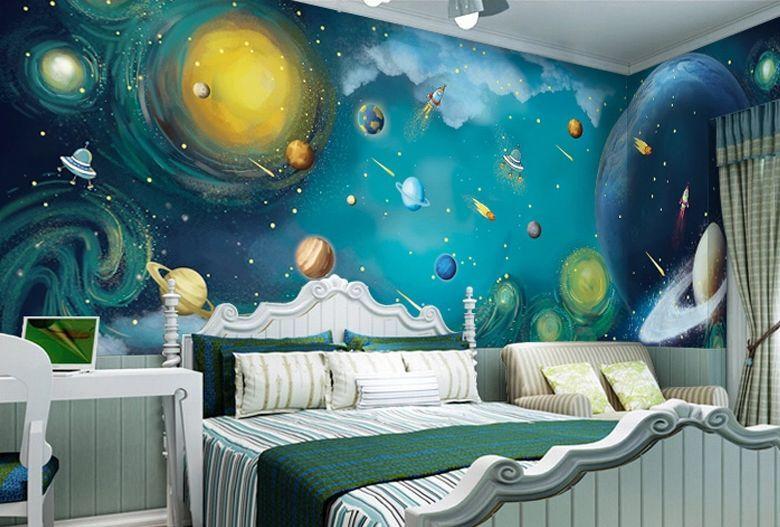 3D Space Universe 1363 Paper Wall Print Decal Wall Wall Murals AJ WALLPAPER GB