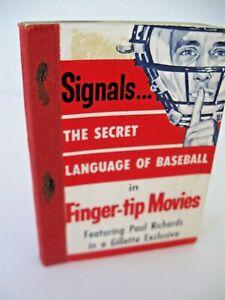 SIGNALS THE SECRET LANGUAGE OF BASEBALL Finger Tip Movies 1957