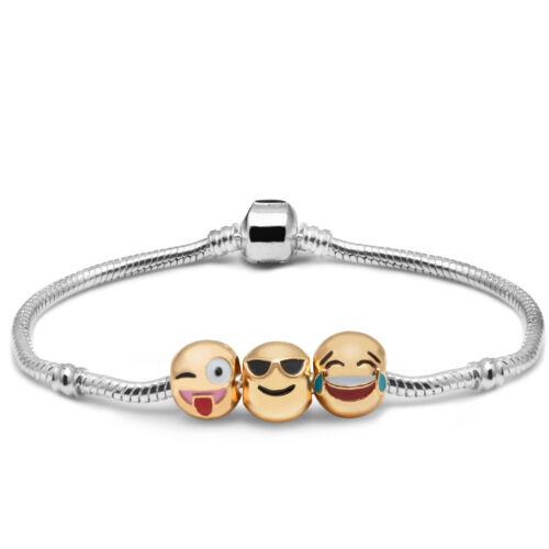 Bracelet amusant 3D plaisir Charmes 3 pièces V1