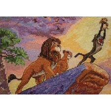 Counted Cross Stitch Kit THE LION KING VIGNETTE; Disney Dreams Collection