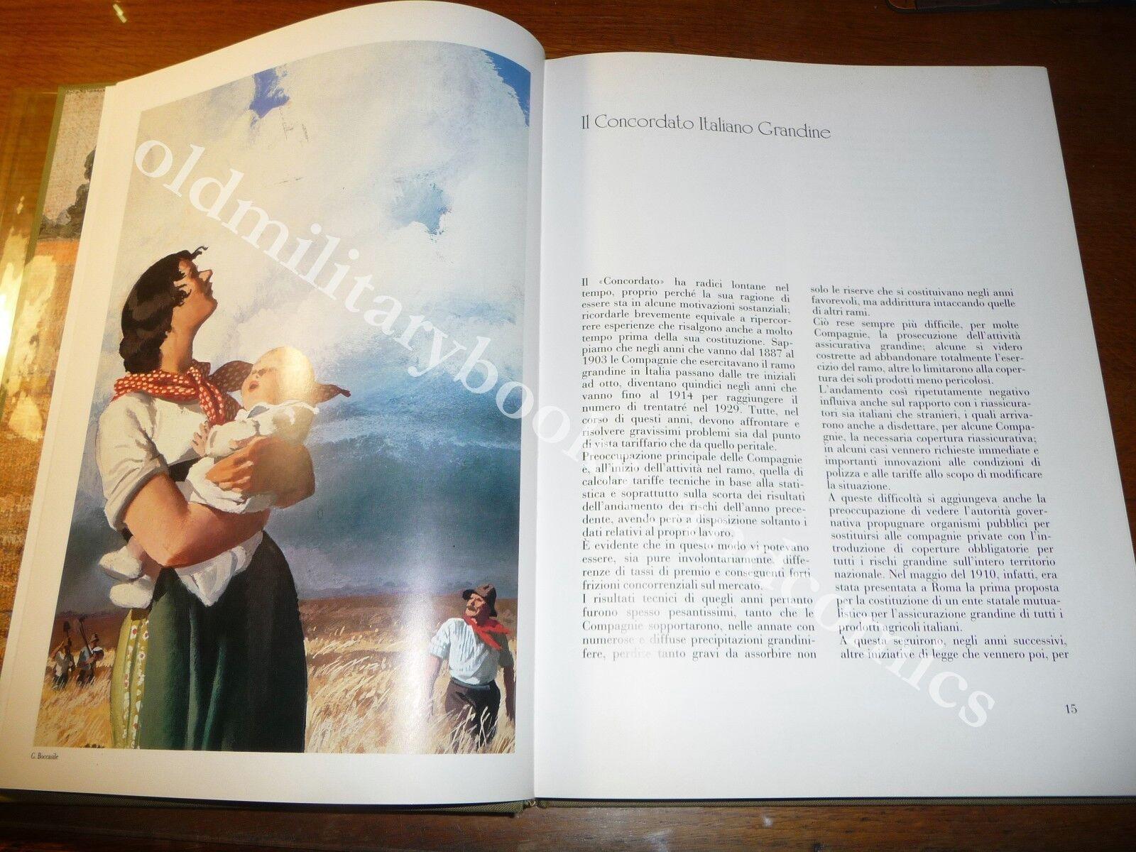I CINQUANT'ANNI DEL CONCORDATO ITALIANO GRANDINE LE ASSICURAZIONI PER CONTADINI
