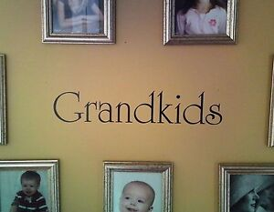Grandkids Wall Decal Removable Sticker Mural Grand Kids
