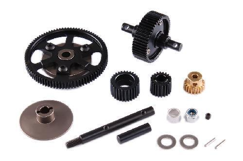 Jazrider HD Metal Transmission Gear Set For Axial SCX10 /AX10 Deadbolt/SMT10