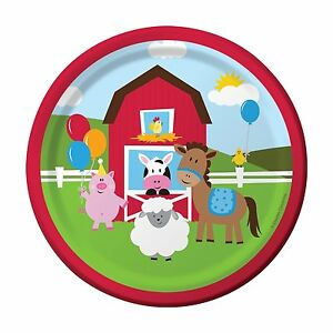 Image is loading 039-Farmhouse-Fun-039-Children-039-s-Birthday-  sc 1 st  eBay & Farmhouse Fun\u0027 Children\u0027s Birthday Party 7\