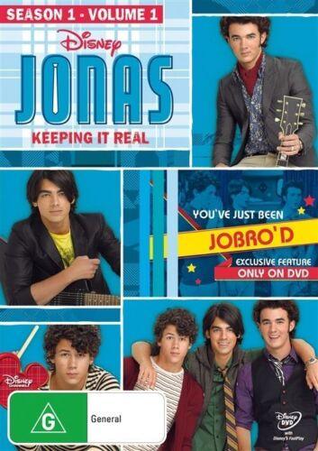 1 of 1 - JONAS: SEASON 1 - VOLUME 1 = TV Series = NEW DVD R4