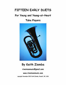 Details about Tuba Duets 15 EARLY DUETS for Young & Young at Heart Tuba  Players ORIGINAL