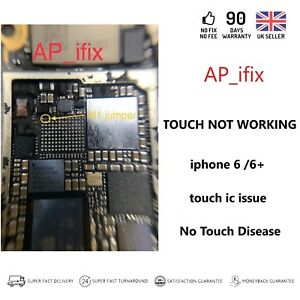 the best attitude 21467 dea0d Details about iPhone 6 / 6+ Touch ic Repair Service (with M1 jumper)