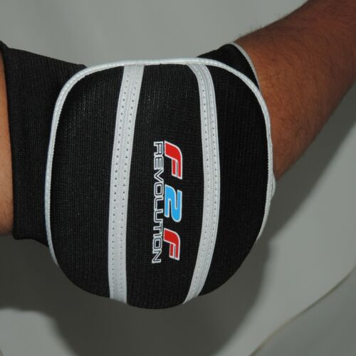 Elbow Pads Protector Padded Brace Support Guards Arm Guard MMA Gym Sports F2F
