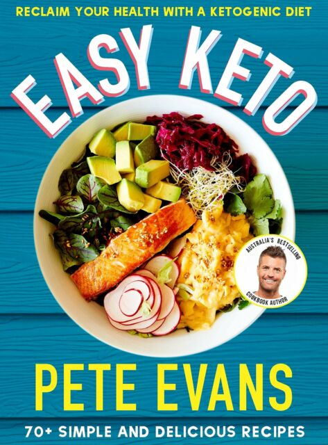 Easy Keto by Pete Evans Paperback Book