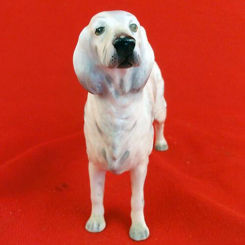 "ENGLISH SETTER BLUE BELTON figurine COALPORT NEW NEVER SOLD 5/"" tall made in UK"