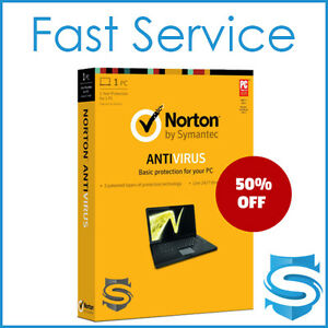 on sale norton antivirus 2017 latest genuine activation key 1pc ebay. Black Bedroom Furniture Sets. Home Design Ideas