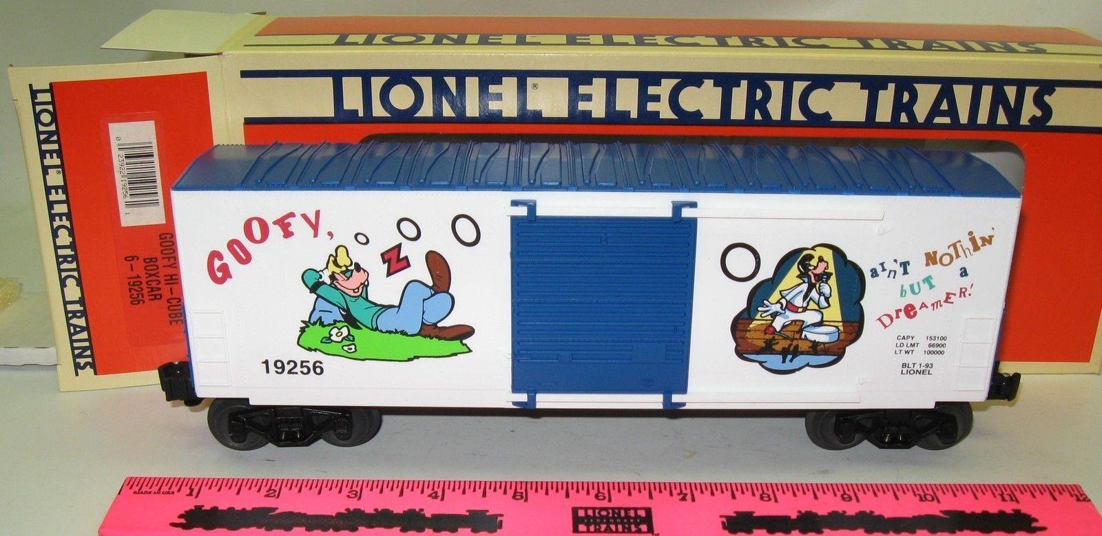 Lionel New 6-19256 Goofy Hi-Cube boxcar