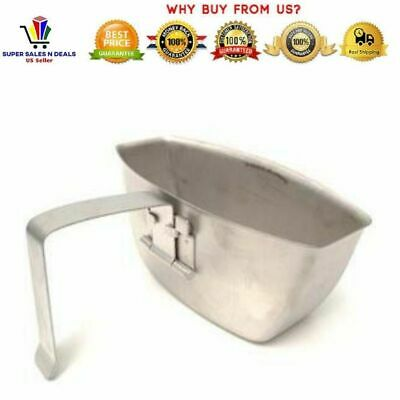 US Army Stainless Steel Arctic Canteen Cup Genuine Unissued