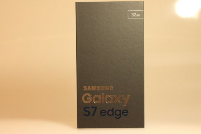 Samsung Galaxy S7 edge 32GB Gold Platinum, Android Smartphone