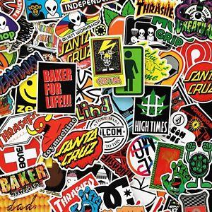 Glossy-Skate-Stickers-Skate-Brand-Stickers-Bundles-amp-Singles-100-Designs