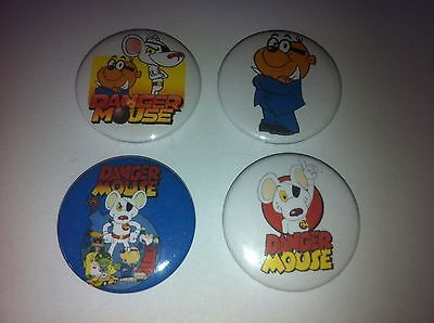 """High Quality -MADE IN UK 90/'s Kids TV Shows Button Badge Pins 1/"""" 25mm"""