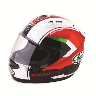 Ducati Corse Arai RX-7V Red Arrow 2016 Drudi Track Motorbike Helmet 98103172