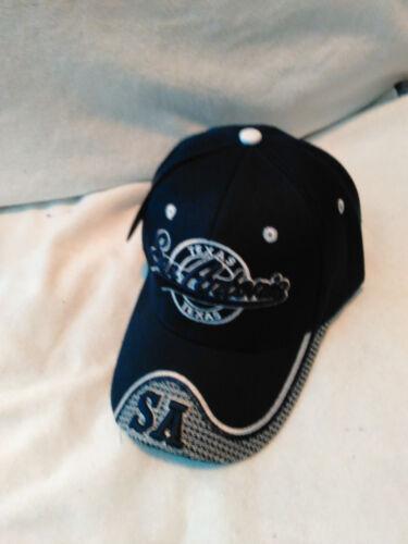 SAN ANTONIO Baseball Cap SA Adjustable strap ADULTS Free ship DARK BLUE
