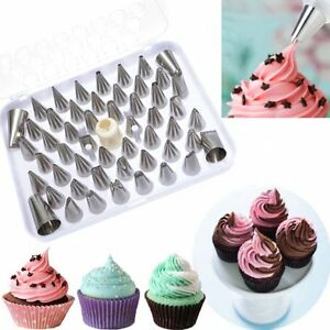 Cake Decorating Metal Tips : Fondant Cake Decorating Sugar Craft Icing Piping Nozzles ...
