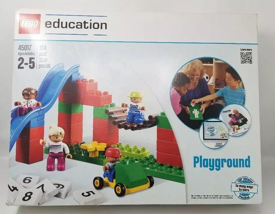 Lego Education Duplo Set  Playground   45017 104 pcs nuovo  disegni esclusivi