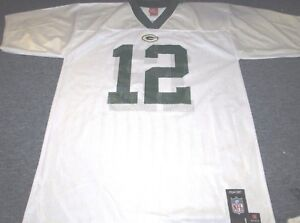b2a1a9310 REEBOK NFL TEAM APPAREL GREEN BAY PACKERS AARON RODGERS JERSEY SIZE ...