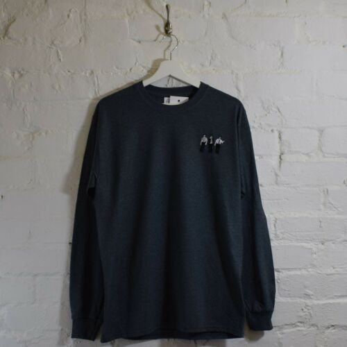 Beastie Boys Sabotage Hip Hop Retro Dark Heather Long Sleeved Tee T-Shirt by AF