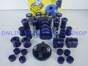 SUPER-PRO-Front-amp-Rear-Suspension-Bush-Kit-for-Gemini-TX-TC-TD-TE-TF-TG-SUPERPRO