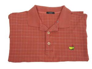 Marbus-Polo-Golf-Coral-Pink-Shirt-Mens-M-Medium-Masters-Augusta-National-Italy