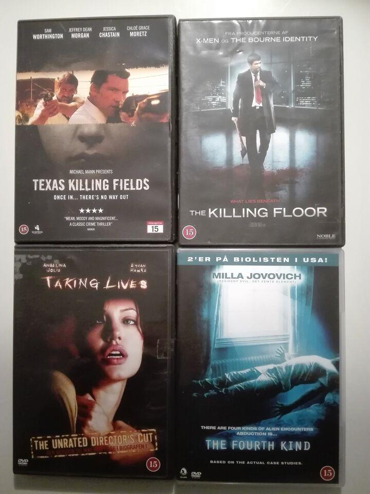 Filmpakke, instruktør -, DVD