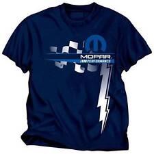 Mopar Performance Men's Blue Front Print T-Shirt