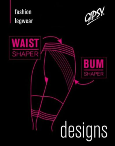 GIPSY SHAPER SHORTS WAIST CLINCHER SHORTS IN BLACK WITH 2 SIZES CODE 1267