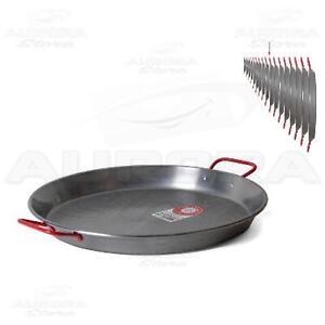 Padella per la paella 50 cm valenciana pentola cucina for Cucinare per 50