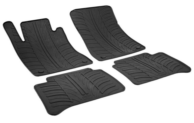 Gummimatten für Mercedes E-Klasse W211/S211 (T-Modell) 2002-2009 Gummi-Fußmatten