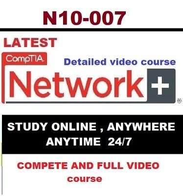 N10-007  FULL video course Comptia Network