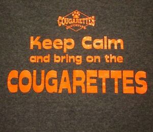 SYLVANIA-SOUTHVIEW-High-School-small-T-shirt-Cougars-tee-Ohio-cheerleaders